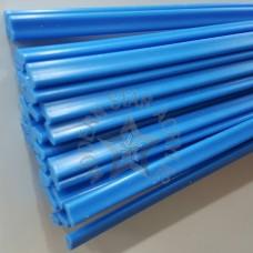 ลวดเชื่อม PVC สีฟ้า เส้นคู่